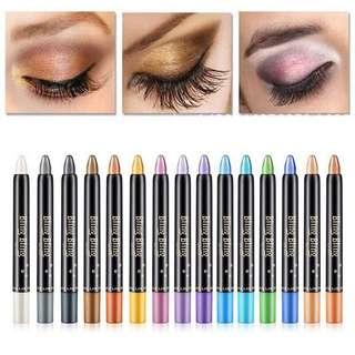 🦋Beauty Highlighter Eye Pen Eyeshadow Pencil Cosmetic Glitter🦋