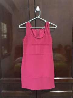Ariella Dress in Pink Fuschia