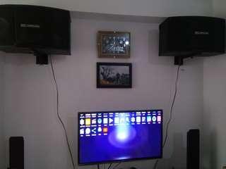Karaoke Set AR-JORDAN speaker amp.