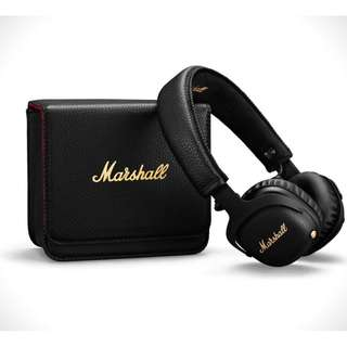 [Instock] Marshall MID ANC A.N.C Active Noise Cancelling Bluetooth Headphone Black