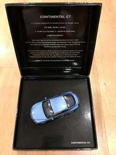 Bentley BL 314 Continental GT Silver lake rhd (Ed.24