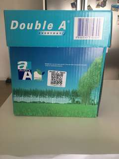 5 A4 Sheets Printer Rims- Unpacked & Sealed - Brand: Double A