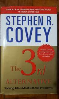 The 3rd Alternative Stephen Covey Book Business Self Help
