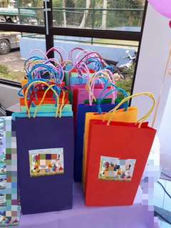 Personalized Birthday Loot Bags!40pcs!