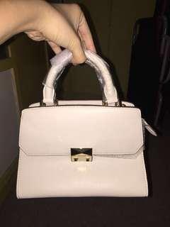 Original Charles & Keith Cream Hand Bag