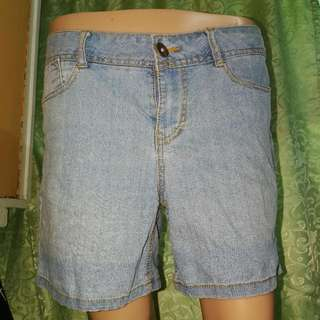 Denim Walking Shorts 32-33
