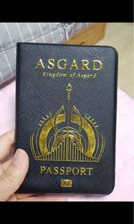 Asgard kingdom passport cover