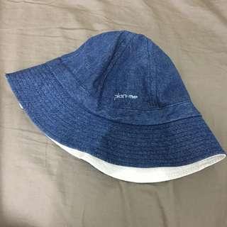 🚚 Plain me 雙面 牛仔 漁夫帽