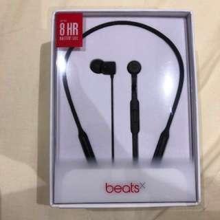 Beats X wireless earphone black
