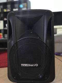 Portable Speaker and wireless mic for 100$ perDay Rent