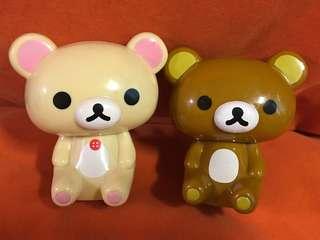 拉鍊熊 鬆弛熊 懶懶熊 白熊 啡熊 Rilakkuma San-X 回力車仔