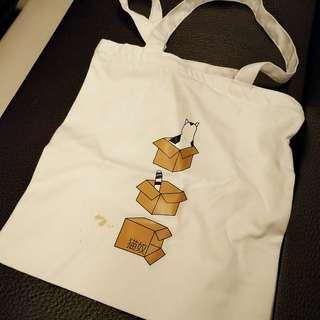 🚚 貓咪 紙箱 包包 肩背包 單肩包