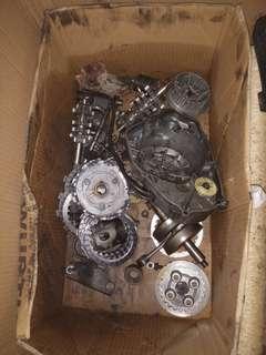 Rxz engine parts