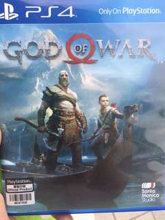 Ps4 Game (God od War)