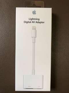 I Phone Lightning Digital AV Adapter