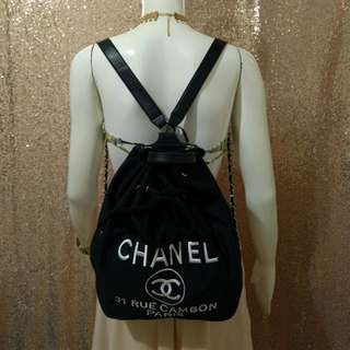 Chanel Chain Backpack Chanel Bag
