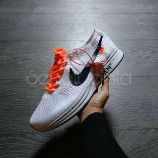 (SALE) Off-White x Nike Flyknit Racer The Ten