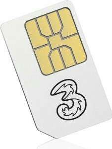 香港電話卡數據卡30日無限上網首6GB4G之後减速 含1000分鐘本地通話