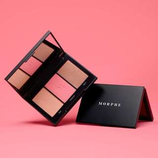NEW!! Morphe Blushing Babes Blush Trio