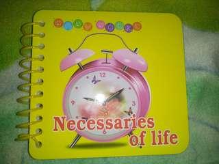 Necessaries of life booklet