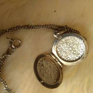 Silverworks Locket Necklace Silver Necklace