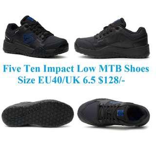 Five Ten Impact Low MTB Shoes Size EU40/UK 6.5 $128/-