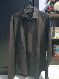 Fs Zara man shirt sz M black tag