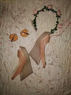 Great OOTD Wedge Sandals 💋💋💋