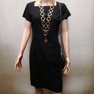 Alan Red Black Dress : Made in Italy  - New with Tag