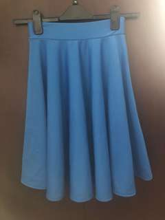 REPRICED! Blue skirt