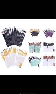 20 pcs Professional Make Up Brush Set