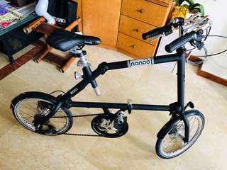 Nanoo Foldable Bike