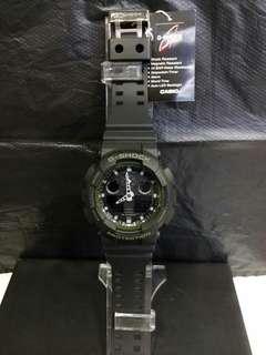 """GA-100L-1A卡西歐品牌手錶""""Casio""""""""G-Shock""""日本機芯一年保養"""