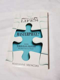 Marianne Mencias What's Your Life's Masterpiece Book