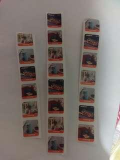 21個萬寧印花 21 Mannings Stamps for recolte products