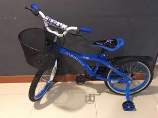 Kids Bicycle Blue $70