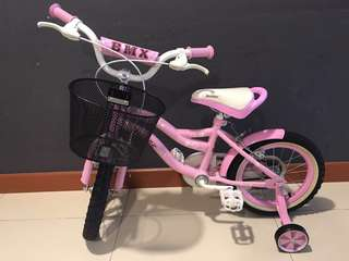 Kids Bicycle Pink $70