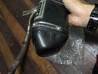 Exhaust dbs thailand pnp klx 150