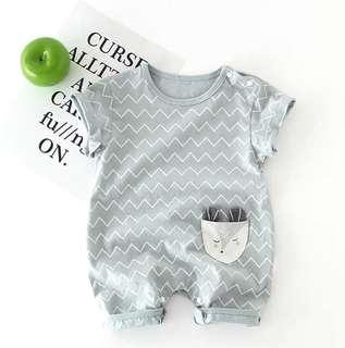 Baby Cute Animal Short Sleeve Short Pant Romper
