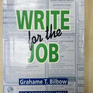Write for the Job