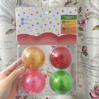 Plastic Balls Shake Children Toys