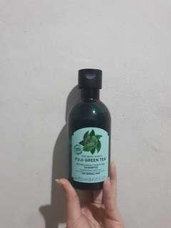 The body shop fuji green tea shampoo