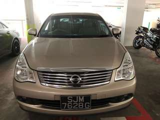 Nissan sylphy 1.5 cheap rental