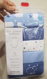 mothercare long sleeve bodysuits #romper #onesie #18 months #24 months #boy