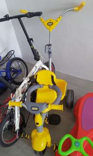 (Listing held back) Hello littletike tricycle