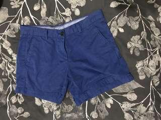 Blue Uni Qlo Shorts