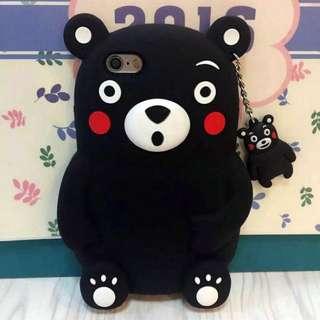 🚚 iPhone 6 熊本熊 矽膠 手機殼