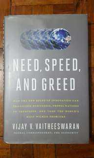 Need, Speed And Greed Business Book Management Economics Self Help