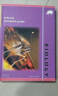 O level complete guide biology