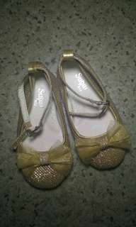 Sugar Kids Gold shoes